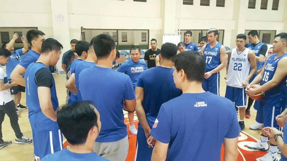 Gilas will take the day off on May 15 and will return to action on May 16 against Thailand in what could be the virtual title decider. (Photo: Smart Gilas Pilipinas/ Facebook)