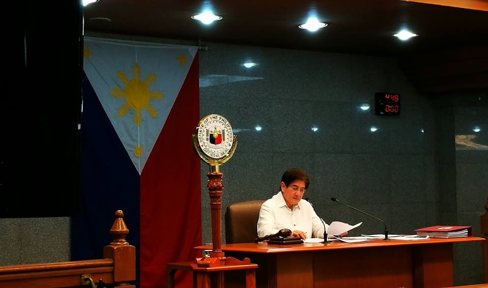 Sen. Gringo Honasan on Friday said that he supports the pitch of Pres. Rodrigo Duterte to raise the Philippine flag in Pag-asa Island on Independence Day (June 12) to assert the country's sovereign rights in the disputed area. (Photo: Gregorio Honasan/Facebook)
