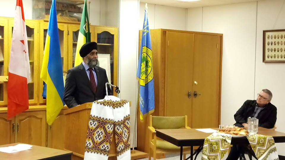 The Trudeau government has so far rejected Walbourne's request, with Defence Minister Harjit Sajjan encouraging the two sides to work together to resolve their differences. (Photo: Harjit Sajjan/ Facebook)