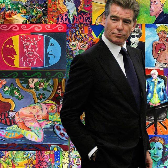 """In the 30 years since he last portrayed a suave thief turned private eye in the '80s TV drama """"Remington Steele,"""" Pierce Brosnan has been eyeing a return to the medium that helped chart his path to stardom. (Photo: Pierce Brosnan/Facebook)"""