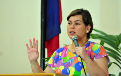 FILE: Mayor Sara Duterte (Photo: Philippine News Agency)