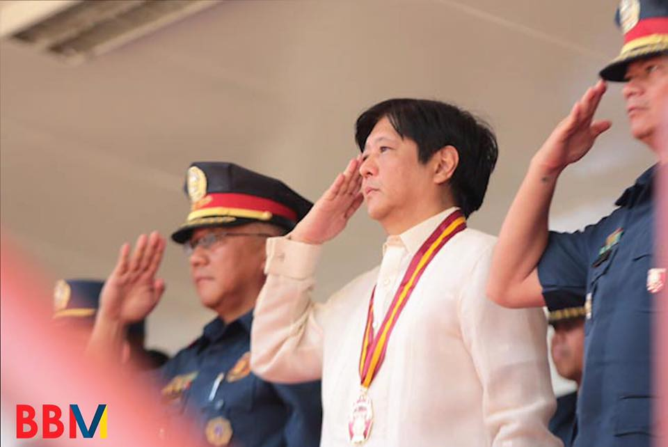 "Former Senator Ferdinand 'Bongbong' Marcos Jr., on Monday paid a PHP36.2-million for the first installment for his election protest filed before the Supreme Court (SC) sitting as the Presidential Electoral Tribunal (PET) against Vice President Maria Leonor ""Leni"" Robredo. (Photo: Bongbong Marcos/Facebook)"