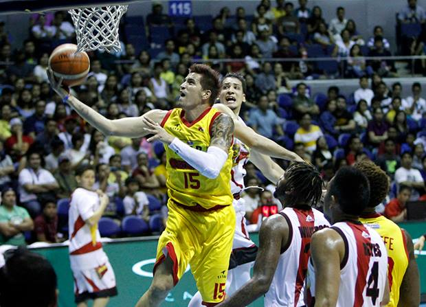 San Miguel and Star, the two teams that figured in the season opener on Nov. 20, will face off in the league's Easter Sunday offering at the Smart Araneta Coliseum in Quezon City. (Photo: Purefoods Star Hotshots/ Facebook)