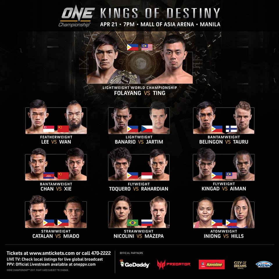 """Without a doubt, this is the biggest show we put on in the Philippines,"" said Loren Mack, One Championship's vice president for public relations, during the pre-fight press conference at the City of Dreams Grand Ballroom on Tuesday. (Photo: ONE Championship/ Facebook)"