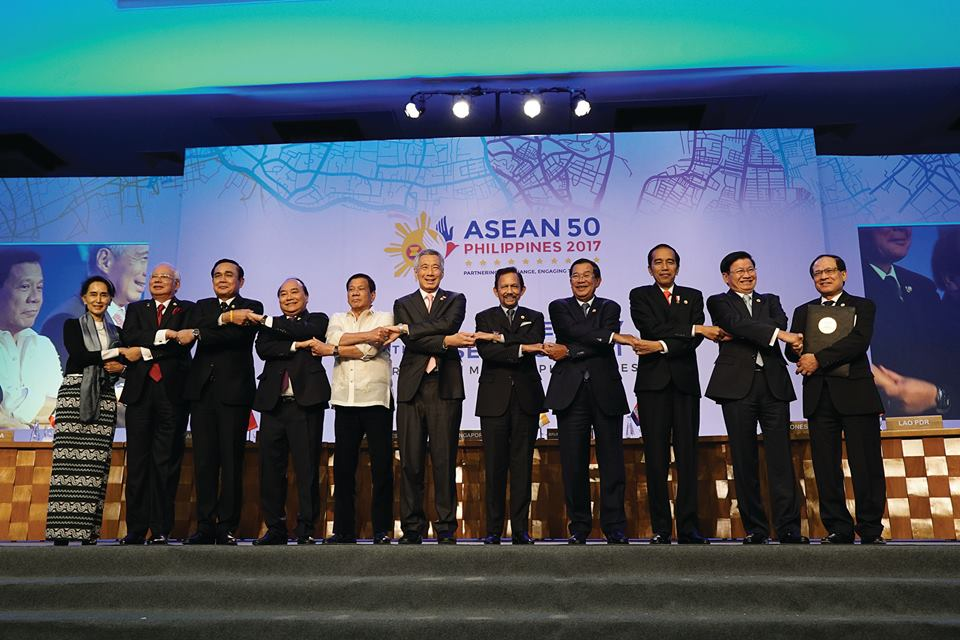 """At the 30th Summit of ASEAN, we had engaged in a productive and fruitful deliberation of ASEAN's work in the community of building process,"" President Rodrigo Roa Duterte said in a press conference on April 29. (Photo:Department of Foreign Affairs Republic of the Philippines/ Facebook)"