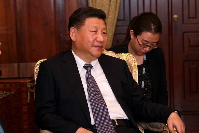 China says President Xi Jinping has stressed the need for an end to North Korea's nuclear weapons program in a phone discussion with Donald Trump that followed tweets from the U.S. president urging China to play a more active role.  (Photo: Agencia de Noticias ANDES/ Flickr)