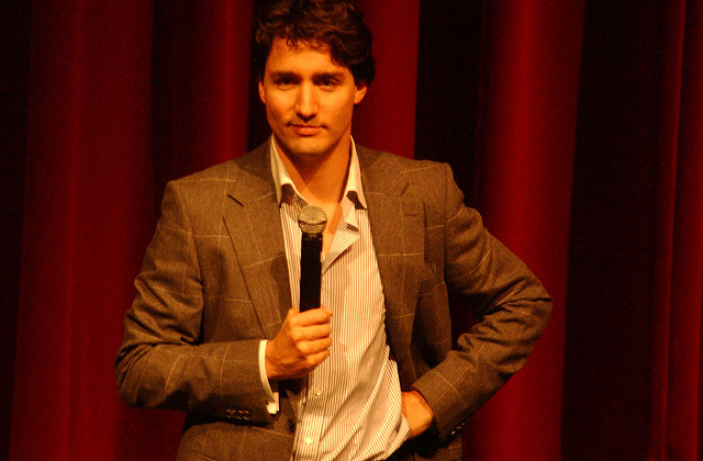 Trudeau rose every time someone in the opposition benches posed a query during the daily question period, clearly catching his rivals off-guard, whose carefully crafted missives were clearly intended for Liberal cabinet ministers. (Photo: Mohammad Jangda/ Flickr)