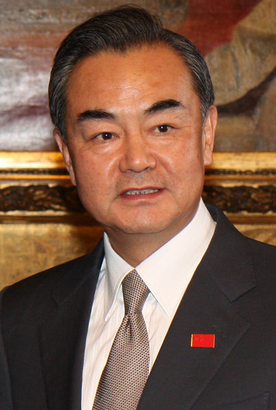 FILE: Chinese Foreign Minister Wang Yi (Photo By Foreign and Commonwealth Office [OGL (http://www.nationalarchives.gov.uk/doc/open-government-licence/version/1/) or CC BY 2.0 (http://creativecommons.org/licenses/by/2.0)])