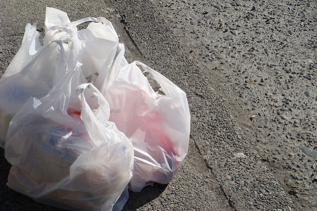 """Since then """"more than 421 tons of plastic bags, 70 manufacturing machines, and 16 vehicles"""" were seized, and 55 people were arrested, the ministry said in a statement. (Photo: velkr0/ Flickr)"""