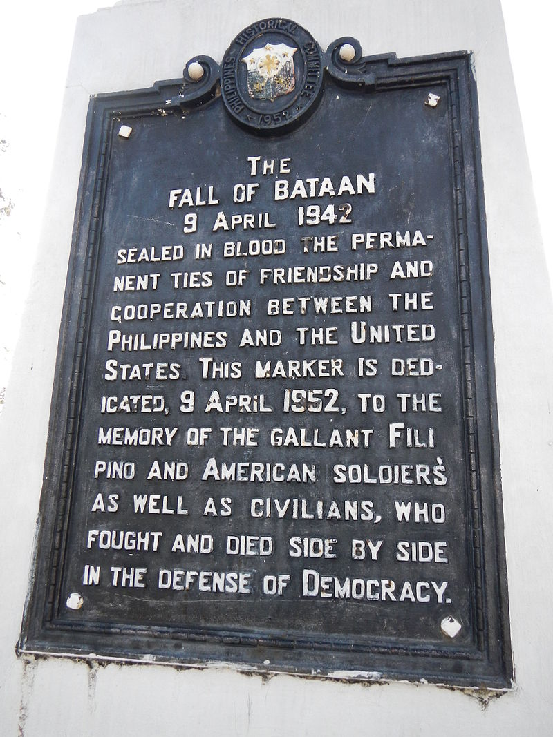 The Philippines on Sunday will commemorate its 75th Day of Valor (Araw ng Kagitingan). (Photo: Ramon F. Velasquez/ Wikipedia)