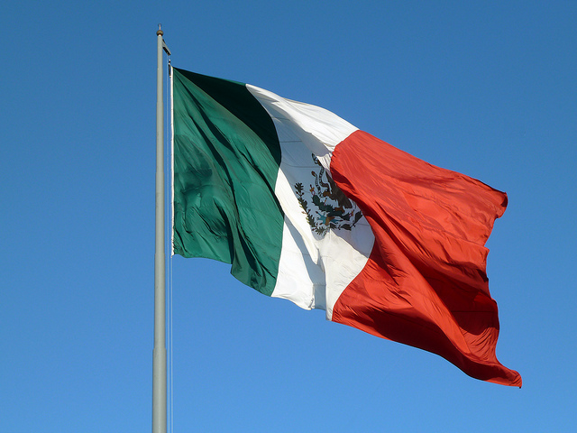 FILE: Flag of Mexico (Photo: Rob Young/ Flickr)