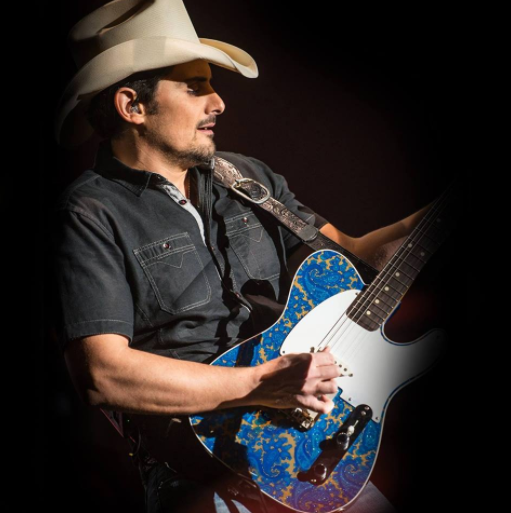 Brad Paisley will do anything to get fans to listen to an entire album front to back, even shoot an hour-long visual album featuring Mick Jagger, Timbaland, John Fogerty and an unfinished Johnny Cash song. (Photo: Brad Paisley/Facebook)