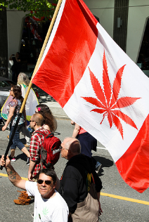 The Liberal government's point man on pot says Canada Day 2018 should not be about legalizing marijuana but about recognizing the country's history. (Photo: Cannabis Culture/Flickr)