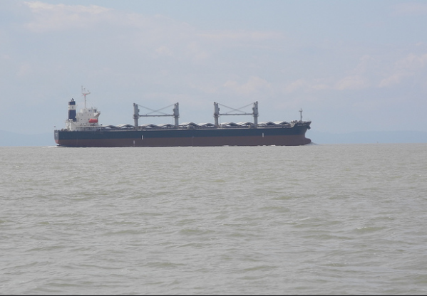 The South Korean foreign ministry says the vessel's shipping company lost contact with Stella Daisy on Friday shortly after a crew member sent a text message saying it was taking on water. (Photo: flightlog/ Flickr)