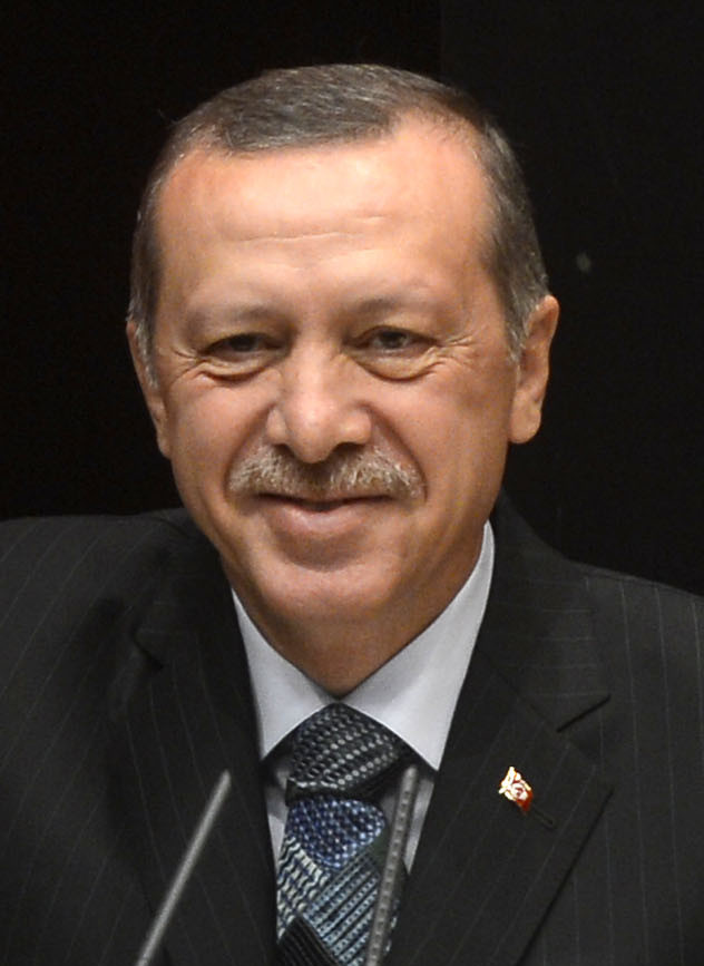 Turkish President Recep Tayyip Erdogan on Thursday said he welcomed remarks by U.S. President Donald Trump considering military action in Syria, and Turkey is ready to support the move if it was launched. (Photo by R4BIA.com (http://www.r4bia.com/en/media-materials) [Public domain],)