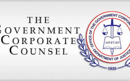 "The OGCC serves as the legal counsel of all ""government-owned-and-controlled corporations, their subsidiaries, other corporate offsprings. (Photo: Philippien News Agency)"