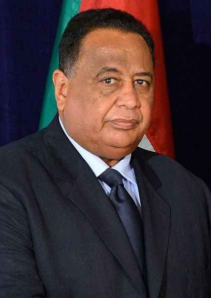 Sudan's Foreign Minister Ibrahim Ghandour said here on Monday that Khartoum's decision to impose entry-visa on Egyptian citizens is meant to prevent terrorism. (Photo by State Department (U.S. Department of State) [Public domain])