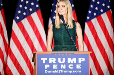 On April 6, Ivanka Trump's company won provisional approval from the Chinese government for three new trademarks, giving it monopoly rights to sell Ivanka brand jewelry, bags and spa services in the world's second-largest economy. (Photo: Michael Vadon/Flickr)