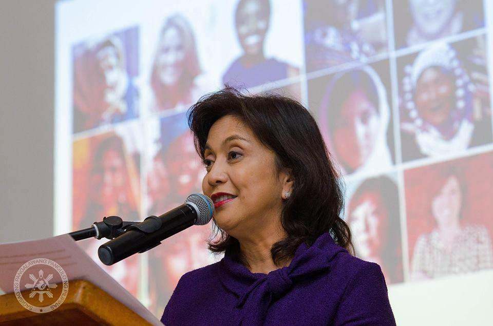Vice President Leni Robredo. (Photo courtesy of Robredo's Facebook)