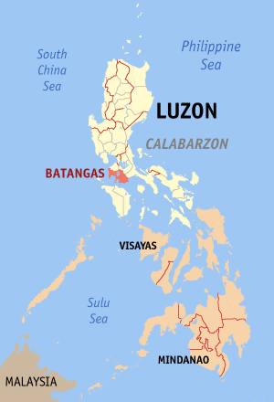 Luces said the epicenter, located around seven kilometers northeast of Tingloy town, have also triggered intermittent power interruptions in some parts of Batangas. (Photo: Eugene Alvin Villar / Wikipedia)