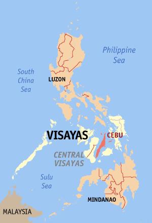 Among the areas hit by flash floods were the cities of Cebu, Mandaue, Lapu-Lapu, Talisay, Toledo and Naga and the municipalities of Cordova, Consolacion, Liloan, Mingalanilla and Pinamungahan. (Photo: Eugene Alvin Villar / Wikipedia)