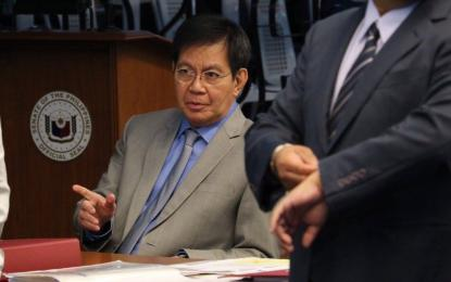 Although Pres. Rodrigo Duterte has already made known his decision not to bring up the arbitration ruling on the South China Sea with China during the ASEAN Summit, Sen. Panfilo Lacson remains hopeful that the President would change his mind. (PNA photo)