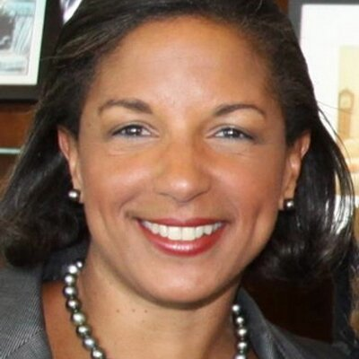In an interview with The New York Times, Trump said Obama's national security adviser, Susan Rice, committed a crime when she asked government analysts to disclose the names of Trump associates documented in intelligence reports. (Photo: Susan Rice/ twitter)