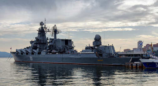 In line with ongoing efforts to beef up Philippine and Russia defense cooperation, two Russian naval vessels, one the guided-missile cruiser Varyag, will be arriving at Pier 15, South Harbor, Manila Thursday for a four-day goodwill visit. (Photo: Alexxx Malev/Facebook)