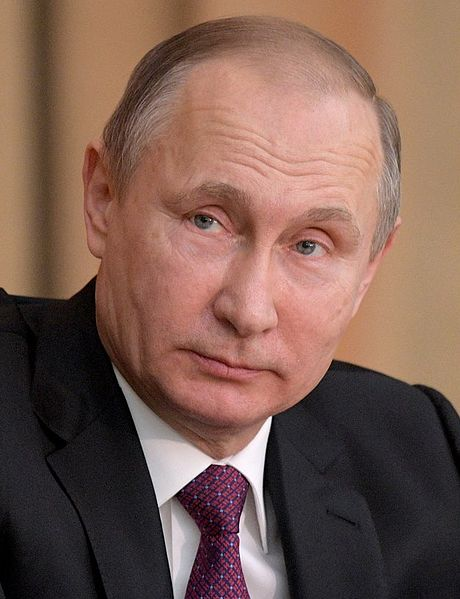 "Russian President Vladimir Putin and Crown Prince Abu Dhabi, Deputy Supreme Commander of the Armed Forces of the United Arab Emirates Sheikh Mohammed bin Zayed bin Sultan Al-Nahyan are to meet in Moscow on Thursday. According to the Kremlin's press service, the parties will consider combating international terrorism, ""primarily in the context of the Syrian settlement."" (Photo: Kremlin.ru [CC BY 4.0 (http://creativecommons.org/licenses/by/4.0)],)"