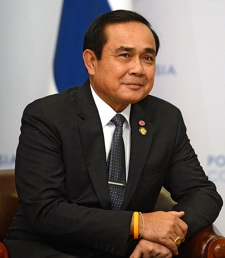 Prime Minister of Thailand Gen. Prayut Chan-o-cha on Friday shared the role of micro, small and medium enterprises (MSMEs) in promoting inclusive growth in Thailand during the first Prosperity for All Summit at the City of Dreams in Parañaque City. (Photo: Kremlin.ru [CC BY 4.0 (http://creativecommons.org/licenses/by/4.0)])