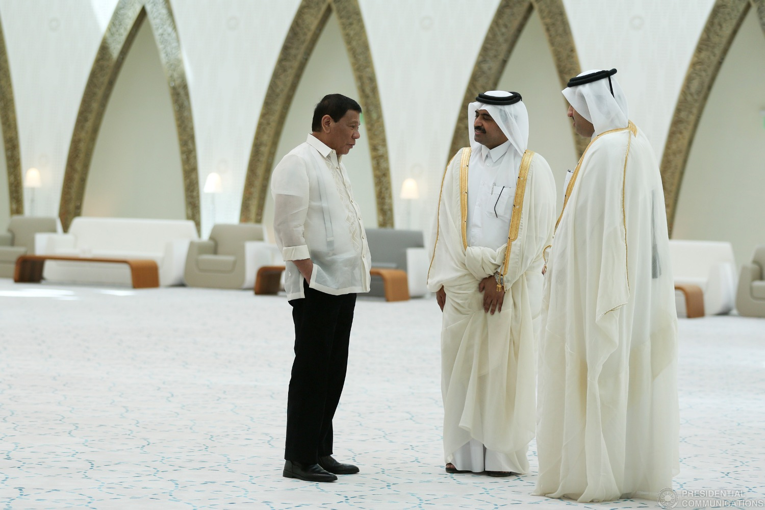 President Rodrigo Duterte and his delegation bagged some USD925 million, or about Php 46 billion worth of prospective investments during their trip to the Middle East during Holy Week. (Photo: TOTO LOZANO/Presidential Photo)