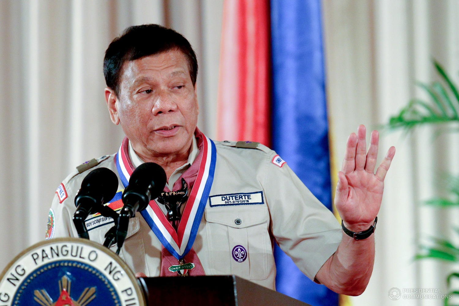 As President Rodrigo Duterte announced his intentions to visit Pagasa Island, the largest of the Philippine-held feature in the Kalayaan Island Group, this coming June 12 the military on Thursday said it is still getting details on the purported visit. (Photo: RICHARD MADELO/Presidential Photo)