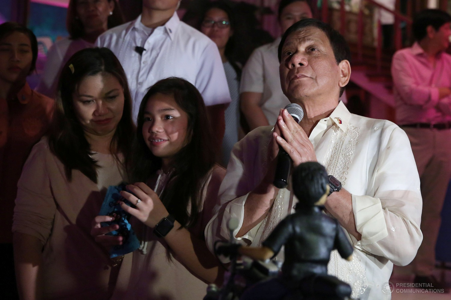 The President is expected to leave Monday afternoon for Kingdom of Saudi Arabia, Kingdom of Bahrain and the State of Qatar, where over a million Filipinos are working. (Photo: ALFRED FRIAS/Presidential Photo)