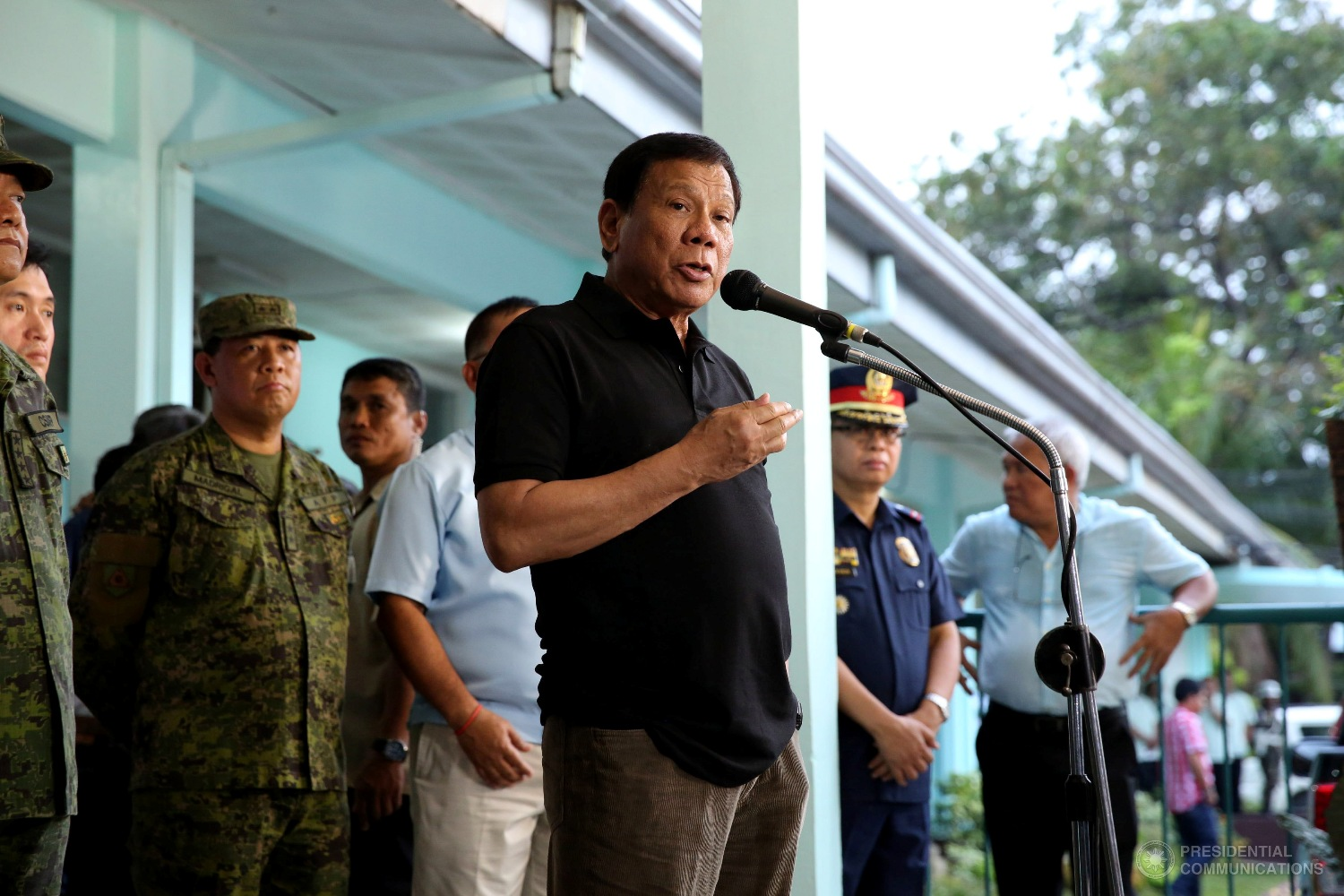 He is the highest official to be removed from office over alleged wrongdoing, though Duterte has fired a number of lower-ranking officials in other government agencies. (Photo: KARL NORMAN ALONZO/Presidential Photo)