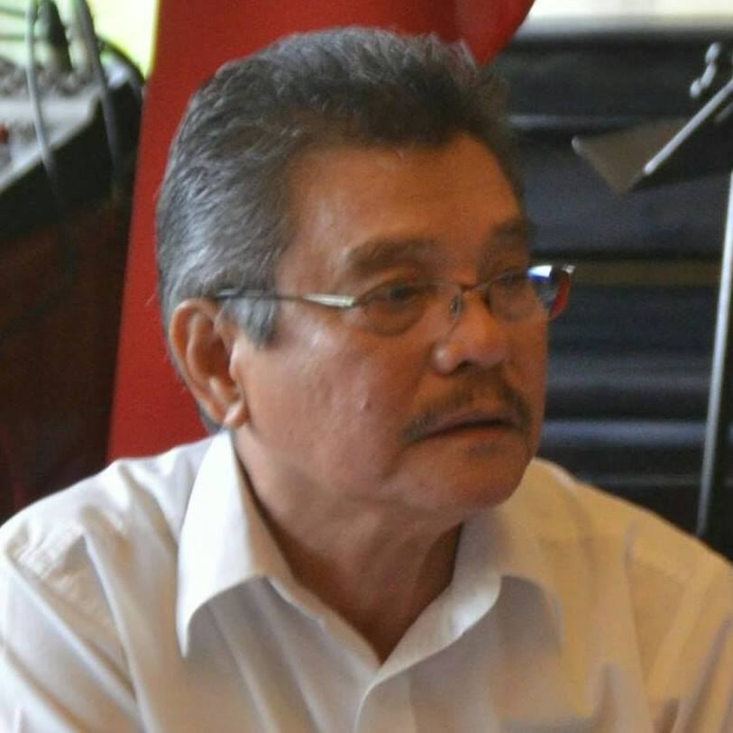 Joel Palacios, 70, former news reporter of Reuters, Associated Press and various leading national newspapers in Metro Manila, former desk editor of Manila Standard, had just come out from his condo unit at the 16th floor  of Central Park Condominium to jog when he was spotted by Robert Garan, armed with a knife and was seething with anger. (Photo: Joel Palacios/Facebook)