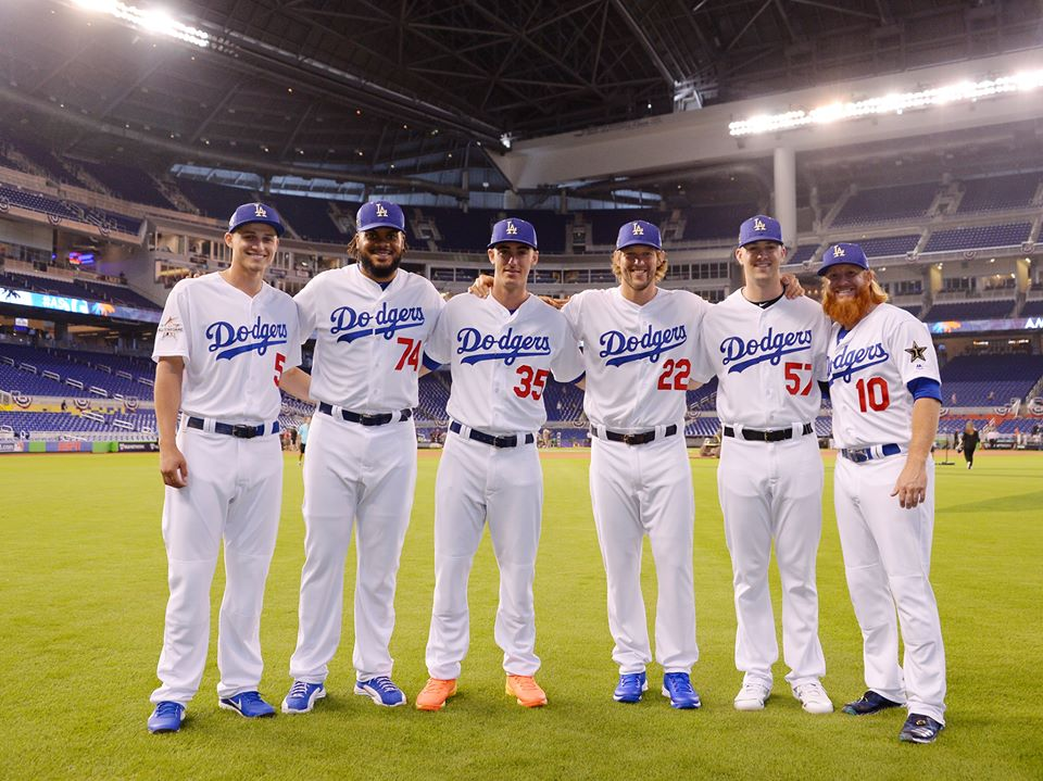 Los Angeles Dodgers (Photo by Dodgers/Facebook)