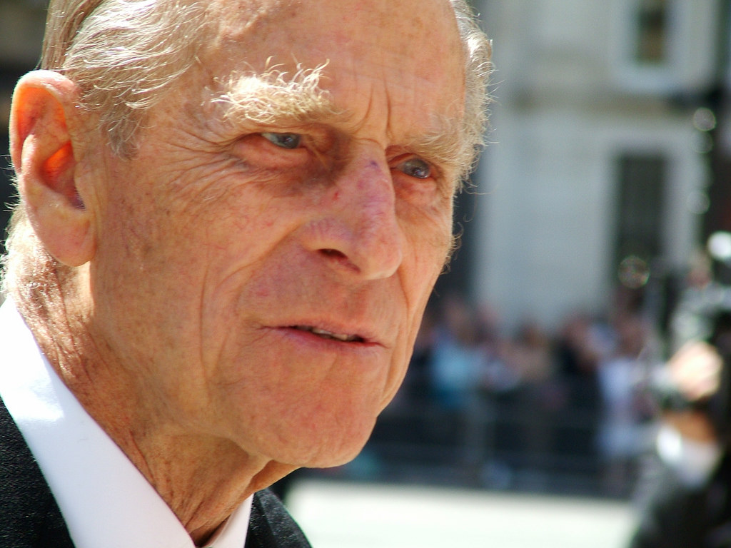 Britain's Prince Philip Marks Final Public Engagement With Royal Marines Parade