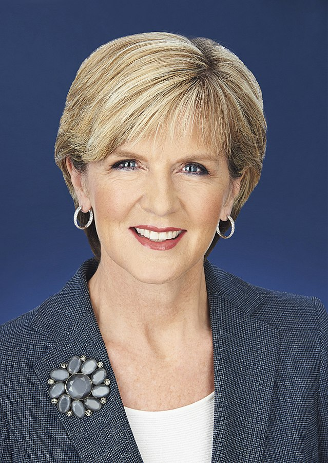 Foreign Minister Julie Bishop said that Australia was prepared to send additional help in the form of training for the Philippine military. (Photo By Department of Foreign Affairs and Trade website, CC BY 3.0)