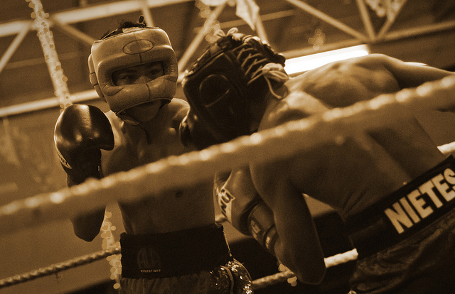 A total of 64 Filipino boxers rated by the Philippine Games and Amusements Board (GAB) can no longer fight abroad after a regulation came out requiring a boxer to score at least two wins of his last three fights. (Photo by Ian Go/Flickr, CC BY-ND 2.0)