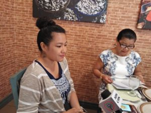 Glenda Lyn Pangantihon, Pangantihon's youngest child, said in an interview on Thursday, that  the book tells how the town got its name and the history of Tibiao starting from the pre-Spanish up to the American occupation. (PNA PHOTO)