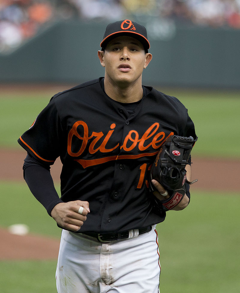 Manny Machado hit the sixth grand slam of his career an inning later, and the Baltimore Orioles routed the Seattle Mariners 11-3 on Monday night. (Photo by Keith Allison, Flickr/CC BY-SA 2.0)