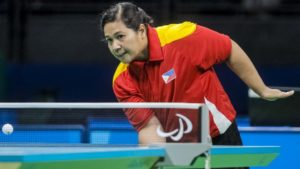 Medina won the gold medal in the women's singles combined Class 8, 9 and 10 during the US Para Open Championships in Las Vegas last January.(Photo from the International Table Tennis Federation website)