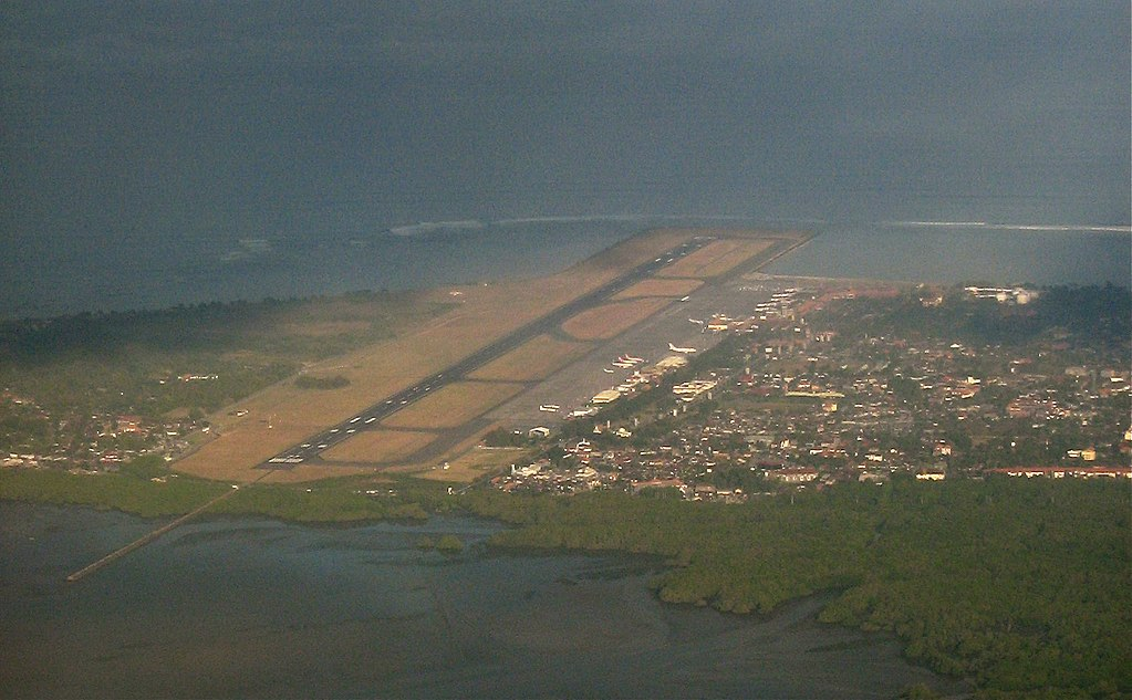Birds View of Denpasar Airport, Bali, Indonesia (Photo By Craig - Own work, CC BY 3.0)