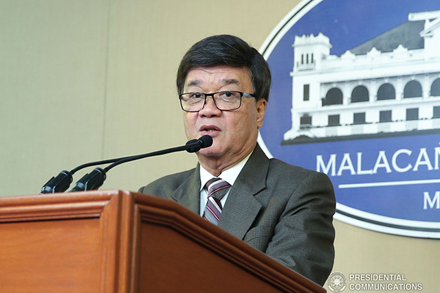 """I ordered the termination of several DOJ employees who have confessed to being involved in anomalies involving the purported processing of visas at the Bureau of Immigration (BI),"" Aguirre said in a statement. (PCOO Photo)"