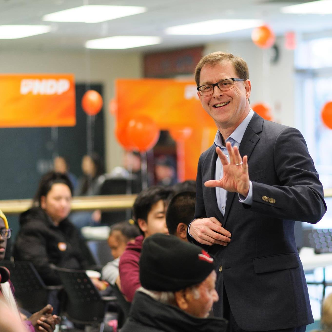 The British Columbia government says it will pay for a drug that costs $700,000 a year for some sufferers of a rare disease. Health Minister Adrian Dix said Monday his ministry will assess whether to cover the medication on a case-by-case basis. (Photo: Adrian Dix/Facebook)