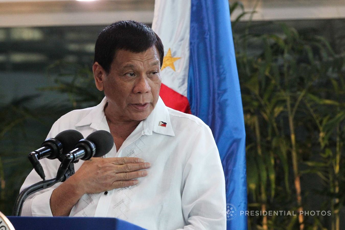 Duterte to human rights critics: Why only PH?