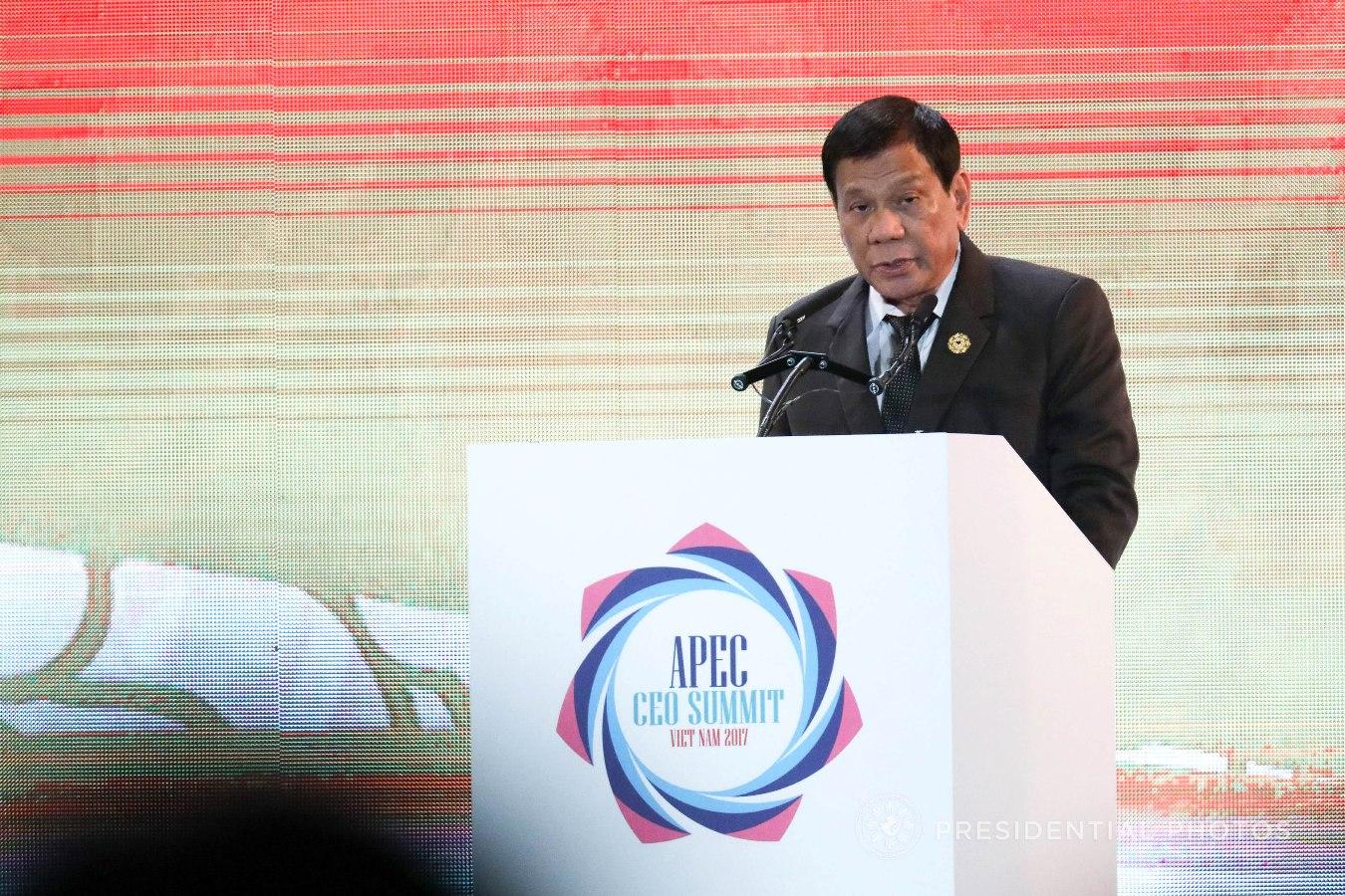 FILE: President Rodrigo Duterte (PCOO Photo)