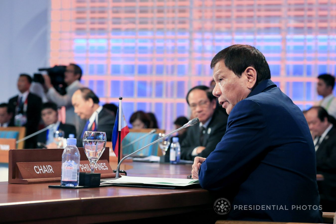 FILE: Duterte, through Presidential Spokesperson Harry Roque, said in a statement that 'better' collaboration of the ASEAN members is needed in combating regional security issues, human trafficking, and the concern on illegal drugs. (PCOO Photo)