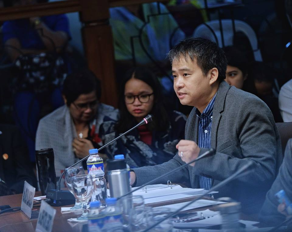 "He said that with the consensus, he is confident that the efforts of the legislative department would be given ""adequate attention."" (Photo: Joel Villanueva/Facebook)"
