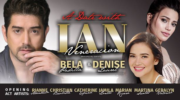 A Date with Ian Veneracion and Bela Padilla & Denise Laurel at pin Hide Map BMCC Tribeca Performing Arts Center 199 Chambers St, New York, New York 10007)Source: Halo Halo USA